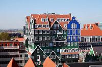Nederland Zaandam - 2020. Het vernieuwde centrum van Zaandam. Inntel Hotels. Het Inntel Hotel is ontworpen door WAM Architecten. Foto Berlinda van Dam / Hollandse Hoogte