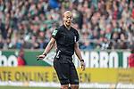 13.04.2019, Weser Stadion, Bremen, GER, 1.FBL, Werder Bremen vs SC Freiburg, <br /> <br /> DFL REGULATIONS PROHIBIT ANY USE OF PHOTOGRAPHS AS IMAGE SEQUENCES AND/OR QUASI-VIDEO.<br /> <br />  im Bild<br /> Bibiana Steinhaus (Schiedsrichter / Referee) <br /> <br /> <br /> Foto &copy; nordphoto / Kokenge