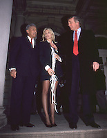 Donald Trump &amp; Marla Maples With NYC<br />