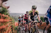 Jack Haig (AUS/Michelton-Scott) up La Redoute<br /> <br /> 104th Li&egrave;ge - Bastogne - Li&egrave;ge 2018 (1.UWT)<br /> 1 Day Race: Li&egrave;ge - Ans (258km)