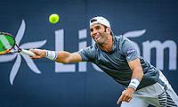 Den Bosch, Netherlands, 14 June, 2018, Tennis, Libema Open, Malek Jaziri (TUN)<br /> Photo: Henk Koster/tennisimages.com