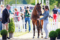 NZL-Caroline Powell with Spice Sensation during the 1st Horse Inspection, CCI4* presented by DHL , at the 2017 Luhmühlen International Horse Trial. Wednesday 14 June. Copyright Photo: Libby Law Photography