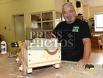 Dick Reid pictured at the open day at Mens Sheds on the Donore Road. Photo:Colin Bell/pressphotos.ie