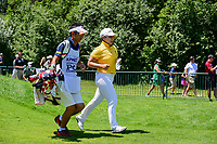 Jiyai Shin (KOR) departs the first tee during Sunday's final round of the 2017 KPMG Women's PGA Championship, at Olympia Fields Country Club, Olympia Fields, Illinois. 7/2/2017.<br /> Picture: Golffile   Ken Murray<br /> <br /> <br /> All photo usage must carry mandatory copyright credit (&copy; Golffile   Ken Murray)