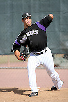 Kenneth Durst / Colorado Rockies 2008 Instructional League..Photo by:  Bill Mitchell/Four Seam Images