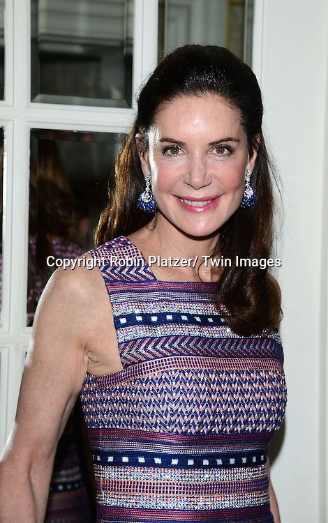 Lois Robbins, in Missoni dress, attends the Museum of the Moving Image Gala honoring Abbe Raven and Thomas Rutledge on May 22, 2013 at the St Regis Hotel in New York City.