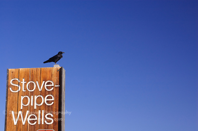 Sign at the Stovepipe Wells general store, Death Valley, California
