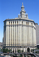 New York: Municipal Building--1914. Skyscraper Historical style. William M. Kendall of McKim Mead & White. Photo '78.