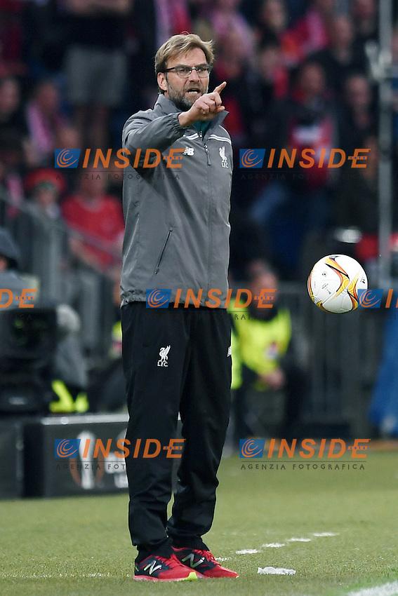 Jurgen Klopp.<br /> Basilea (Svizzera) 18-05-2016 - finale Europa League / Liverpool-Siviglia. <br /> Foto Matteo Gribaudi / Image Sport / Insidefoto
