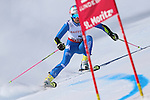 ALPINE WORLD SKI CHAMPIONSHIPS 2017.  in action during the Ladie's Giant Slalom in St. Moritz on February 16, 2017. France's Tessa Worley is leading after the first run ahead of Sofia Goggia from Italy and USA's Mikaela Shiffrin.