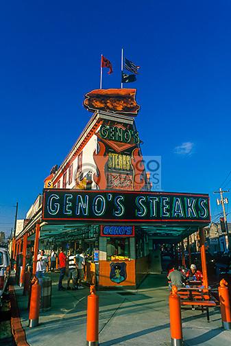 GENOS STEAKS SOUTH 9TH STREET PHILADELPHIA PENNSYLVANIA USA