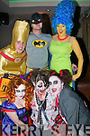 1297-1300.---------.Spirits.-------.Staff from Debenhams,Manor shopping centre,Tralee,really turned on the style for their halloween party last Saturday night in the AbbeyInn,Tralee(front L-R)Jackie Keegan,Sabrina Kelly and Sarah Hennessy(back L-R)Phillis Lynch,Mark Hennessy and Linda Hussey..-