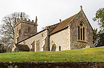 Historic village parish church of Saint Peter, Milton Lilbourne, Wiltshire, England, UK Vale of Pewsey