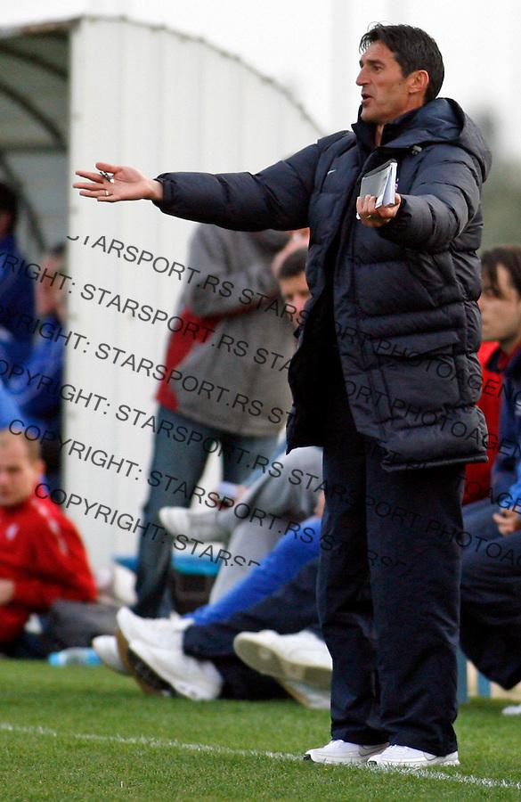 Cedomir Janevski Sport Fudbal Soccer Crvena Zvezda Pripreme Agia Napa Aja Napa Kipar Cyprus Brno 6.2.2009. photo: Pedja Milosavljevic / STARSPORT