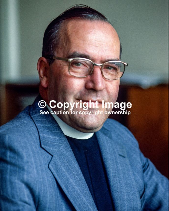 Rev Jack  Weir, secretary, Presbyterian Church in Ireland, 19790092a..Copyright Image from Victor Patterson, 54 Dorchester Park, Belfast, UK, BT9 6RJ..Tel: +44 28 9066 1296.Mob: +44 7802 353836.Voicemail +44 20 8816 7153.Skype: victorpattersonbelfast.Email: victorpatterson@me.com.Email: victorpatterson@ireland.com (back-up)..IMPORTANT: If you wish to use this image or any other of my images please go to www.victorpatterson.com and click on the Terms & Conditions. Then contact me by email or phone with the reference number(s) of the image(s) concerned.