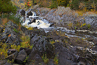 St. Louis River in Jay Cooke State Park Near Duluth Minnesota.