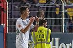 12.10.2018, Stadion an der Bremen Bruecke, Osnabrueck, GER, FSP, 1.FBL, VfL Osnabrueck vs Werder Bremen<br /> <br /> DFL REGULATIONS PROHIBIT ANY USE OF PHOTOGRAPHS AS IMAGE SEQUENCES AND/OR QUASI-VIDEO.<br /> <br /> im Bild / picture shows<br /> Marco Friedl (Werder Bremen #32) ärgert sich über vergebene Torchance, <br /> <br /> Foto © nordphoto / Ewert