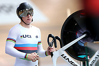 Ethan Mitchell during training, Avantidrome, Home of Cycling, Cambridge, New Zealand, Friday, March 17, 2017. Mandatory Credit: © Dianne Manson/CyclingNZ  **NO ARCHIVING**
