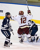 Jimmy Martin (Yale - 2), Ben Smith (BC - 12), Billy Blase (Yale - 30) - The Boston College Eagles defeated the Yale University Bulldogs 9-7 in the Northeast Regional final on Sunday, March 28, 2010, at the DCU Center in Worcester, Massachusetts.