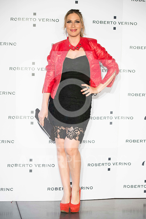 "Roser during the presentation of the new Spring-Summer collection ""Un Balcon al Mar"" of Roberto Verino at Platea in Madrid. March 16, 2016. (ALTERPHOTOS/Borja B.Hojas)"