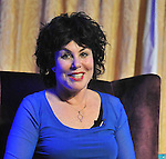 Ms Ruby Wax at the RollingSun Book festival in Westport<br /> Pic Conor McKeown