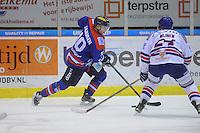 IJSHOCKEY: HEERENVEEN: IJsstadion Thialf, 13-01-2016, Halve finale beker, UNIS Flyers-AHOUD Devils, Brent Janssen (#10), ©foto Martin de Jong