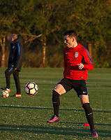 Lakewood Ranch, FL : The US Soccer U-19 MNT trains at the Premiere Sports Complex during the Men's Youth National Team Summit in Lakewood Ranch, Fla., on January 3, 2018. (Photo by Casey Brooke Lawson)