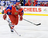 Nikita Pivtsakin (Russia - 3) - Russia defeated Finland 4-0 at the Urban Plains Center in Fargo, North Dakota, on Friday, April 17, 2009, in their semi-final match during the 2009 World Under 18 Championship.