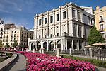 The Opera House, Plaza de Oriente Square, Madrid, Spain