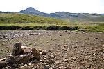 View of Kerlingarskard Mountain Pass near Stykkisholmur in Iceland