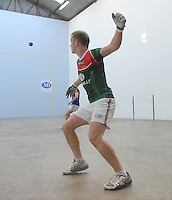 21st September 2013; Stephen Cooney, Mayo, in action in the Intermediate Singles Final. GAA Handball, All-Ireland Finals, Broadford Handball Club, Co Limerick. Picture credit: Tommy Grealy/actionshots.ie.