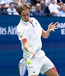 September 8,2019:   Daniil Medvedev (RUS) loses to Rafael Nadal (ESP) in a five set drama, at the US Open being played at Billie Jean King National Tennis Center in Flushing, Queens, NY.  ©Jo Becktold/CSM