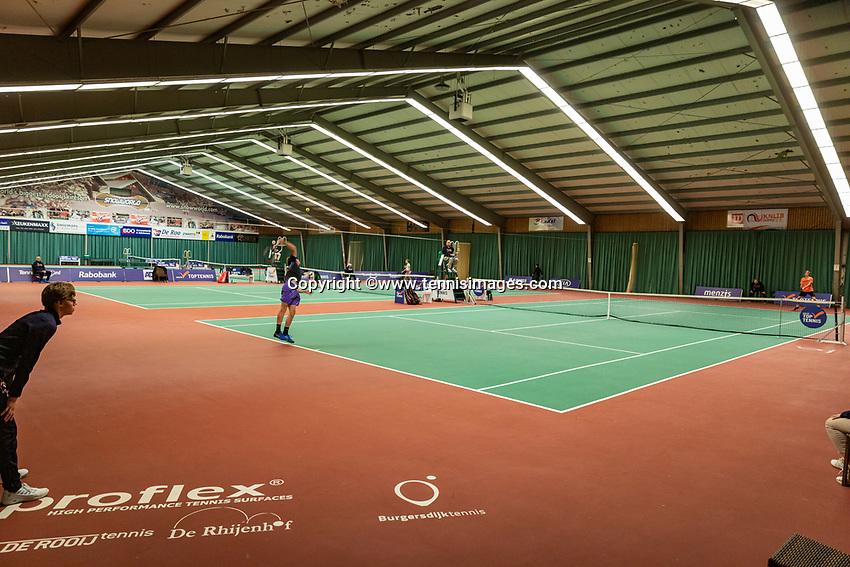 Wateringen, The Netherlands, December 1,  2019, De Rhijenhof , NOJK 12 and16 years, overall vieuw<br /> Photo: www.tennisimages.com/Henk Koster