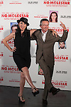 "Spanish actress Rossy de Palma and French movie director Patrice Leconte pose during `No molestar´ (""Une heure de tranquillite"") film presentation in Madrid, Spain. June 12, 2015. (ALTERPHOTOS/Victor Blanco)"
