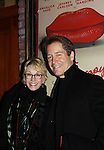 "Search for Tomorrow Sandy Duncan poses with friend Laurence Lau ""Greg Nelson, OLTL Sam Rappaport, Another World ""Jamie Frame"" and As The World Turns on opening night of Psycho Therapy on February 7, 2012 at the Cherry Lane Theatre, New York City, New York. After party at Sushi Samba, NYC. (Photo by Sue Coflin/Max Photos)"