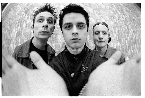 Green Day portrait taken on December 14, 1995. Credit: Jay Blakesberg/MediaPunch ***HIGHER RATES APPLY***