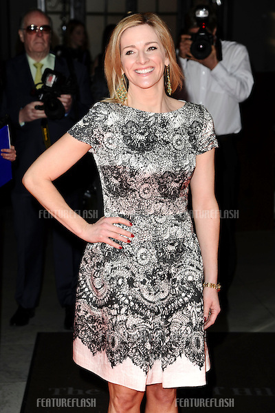 Gaby Logan arrives for the Tesco Mum of the Year Awards 2012 at the Waldorf Hotel, London. 11/03/2012 Picture by: Steve Vas / Featureflash