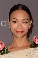 LOS ANGELES, CA - NOVEMBER 04: Zoe Saldana at the 2017 LACMA Art + Film Gala Honoring Mark Bradford And George Lucas at LACMA on November 4, 2017 in Los Angeles, California. Credit: David Edwards/MediaPunch /NortePhoto.com