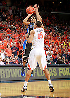 Duke guard Grayson Allen (3) during an ACC basketball game Jan. 31, 2015 in Charlottesville, VA. Duke won 69-63.