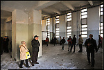 Visita guidata alla Manifattura Tabacchi con gli ex operai della fabbrica. Marzo 2013