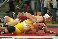 23 November 2004: Mark Egesdal during Stanford's wrestling match against USF in the Ford Center in Stanford, CA.