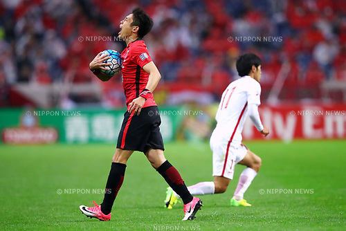 Ryota Moriwaki (Reds), <br /> APRIL 11, 2017 - Football / Soccer : 2017 AFC Champions League Group F match between <br /> Urawa Reds 1-0 Shanghai SIPG<br /> at Saitama Stadium 2002, Saitama, Japan. (Photo by Sho Tamura/AFLO SPORT)