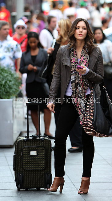 WWW.ACEPIXS.COM . . . . .  ....July 26 2012, New York City....Actress Katharine McPhee on the set of the TV show 'Smash' on July 26 2012 in New York City....Please byline: Zelig Shaul - ACE PICTURES.... *** ***..Ace Pictures, Inc:  ..Philip Vaughan (212) 243-8787 or (646) 769 0430..e-mail: info@acepixs.com..web: http://www.acepixs.com
