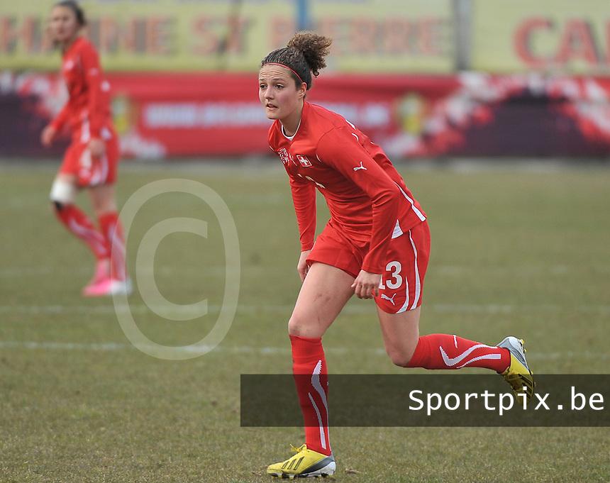 Switzerland U19 - Russia U19 : Sabrina Ribeaud.foto DAVID CATRY / Nikonpro.be