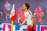 07.10.2018, Red Bull Arena, Leipzig, GER, 1. FBL 2018/2019, RB Leipzig vs. 1. FC N&uuml;rnberg/Nuernberg,<br /> <br /> DFL REGULATIONS PROHIBIT ANY USE OF PHOTOGRAPHS AS IMAGE SEQUENCES AND/OR QUASI-VIDEO.<br /> <br /> im Bild<br /> <br /> <br /> 3:0 F&uuml;hrung f&uuml;r RB Leipzig durch Marcel Sabitzer (#7, RB Leipzig), <br /> <br /> Foto &copy; nordphoto / Dostmann