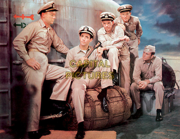 The Caine Mutiny (1954) <br /> Van Johnson, Fred MacMurray, Robert Francis, Jerry Paris <br /> *Filmstill - Editorial Use Only*<br /> CAP/KFS<br /> Image supplied by Capital Pictures