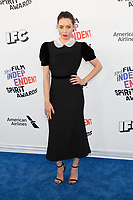 SANTA MONICA, CA - MARCH 3: Aubrey Plaza at the 2018 Film Independent Spirit Awards in Santa Monica, California on March 3, 2018. <br /> CAP/MPI/SR<br /> &copy;SR/MPI/Capital Pictures