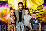Cassie Leen Studios ready to compete at the British & Irish Masters International Freestyle Dance Championships 2020 in the Brandon on Friday. <br /> L to r: Victoria Stepien, Michael Everett, Tanisha Horan and Callum Holden.