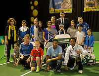 Rotterdam, The Netherlands. 15.02.2014. ABN AMRO World tennis Tournament<br /> Photo:Tennisimages/Henk Koster
