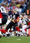 3 September 2009:  Buffalo Bills' quarterback Ryan Fitzpatrick in action during a pre-season game against the Detroit Lions at Ralph Wilson Stadium in Orchard Park, New York. The Lions defeated the Bills 17-6...Mandatory Photo Credit: Ed Wolfstein Photo